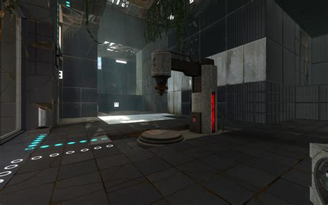 Light Portal by Volumetric Lighting In Portal 2 Clockworkbrain
