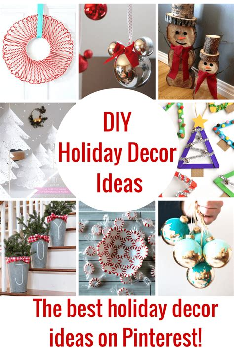 diy projects for home decor pinterest the best diy holiday decor on pinterest princess pinky girl
