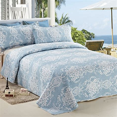 coverlet queen size c ctn 3pc reversible printed bedspread coverlet set quilt
