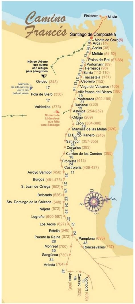camino santiago compostela santiago camino de santiago and espa 241 a on