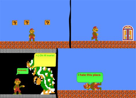 8bit Mario Bros 1 Raglan 8 bit parodies comic mario bros 1 by