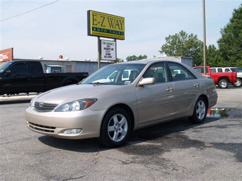 2002 Toyota Camry Se 2002 Toyota Camry Se V6 Picture Exterior