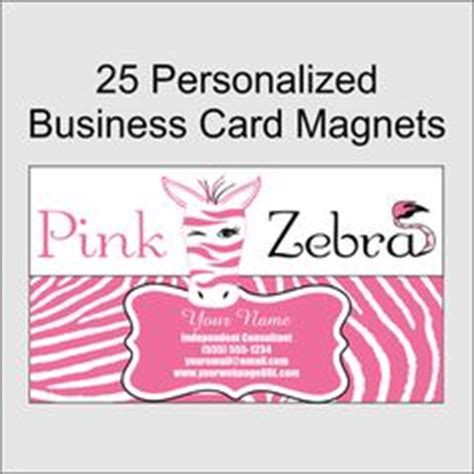 Pink Zebra Business Card Template by Pink Zebra Blank Templates Pink Zebra Print Blank
