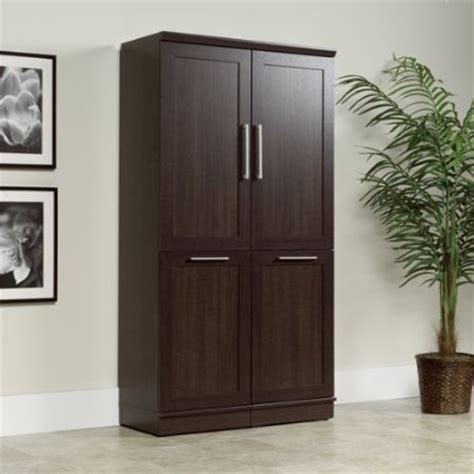 2 Narrow Storage Cabinets w/ tilt out Recycle Bin / Trash