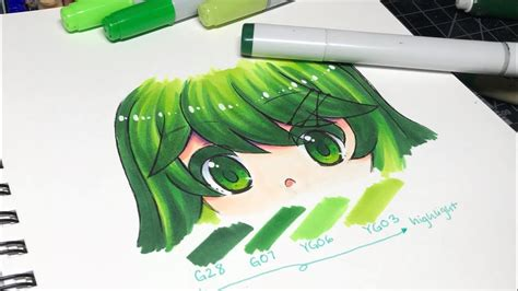how to color from hair how to color hair with markers