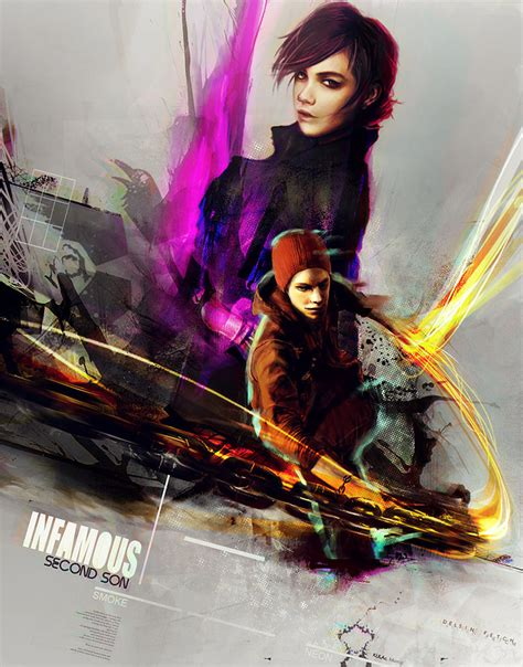 Bd Infamous Ss infamous second by siricc on deviantart