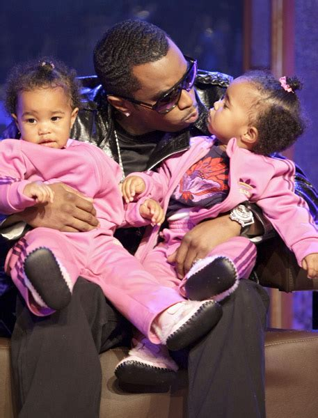 Diddy And Show The Babies by P Diddy S Babies Make Their Television Debut On Mtb4