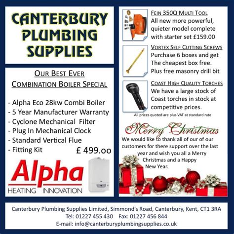 Canterbury Plumbing Supplies specials canterbury plumbing supplies