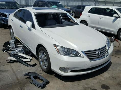 lexus es 2011 2011 lexus es 350 for sale az salvage cars