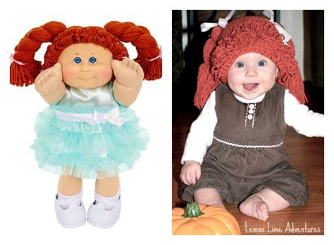 Cabbage Patch Doll Costume Diy simple cabbage patch doll costume