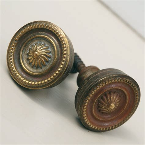 pair of antique cupboard knobs