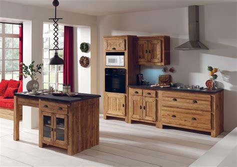 r駭 une cuisine en ch麩e massif meuble de cuisine nos mod 232 les de cuisine pr 233 f 233 r 233 s c 244 t 233