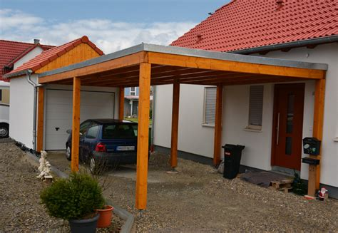 Carport Garage Kombination Holz by Modul Carports Klassisch G 252 Nstig
