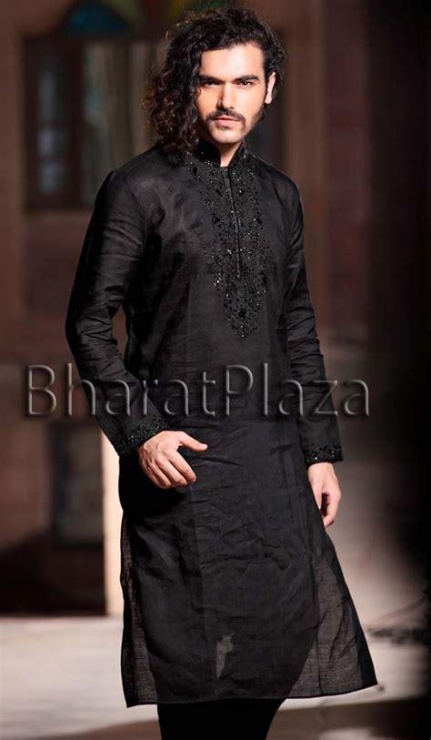 kurta pattern in black pics for gt black kurta patterns for men