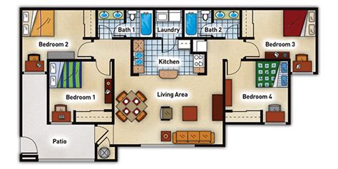 uf dorms floor plans university commons uf off cus student housing