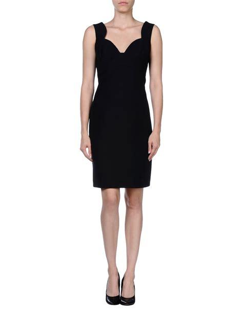 Black Lussile Katun Mini Dress prada dress in black lyst