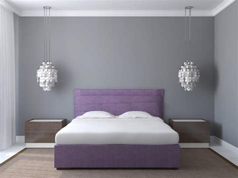 gray paint schlafzimmer how to make gray walls look less purple home guides sf