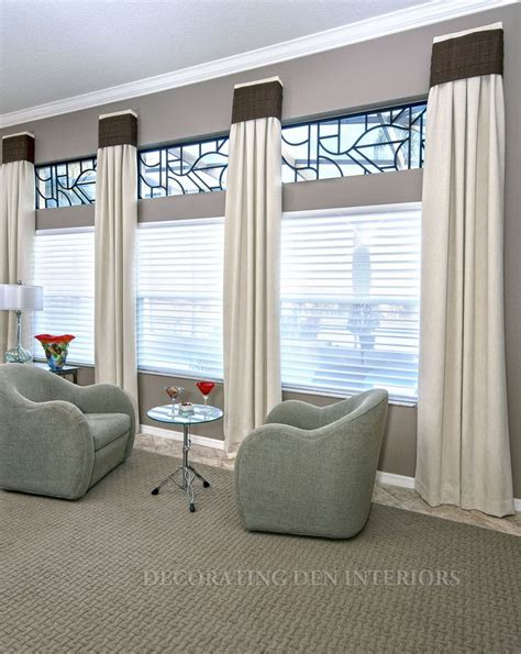 window treatmetns custom window treatments designer curtains shades and