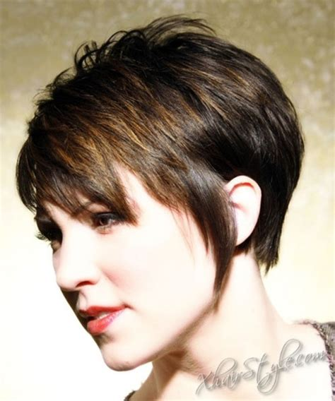 textured ear length hair cuts like the shorter bangs and short back not the length in