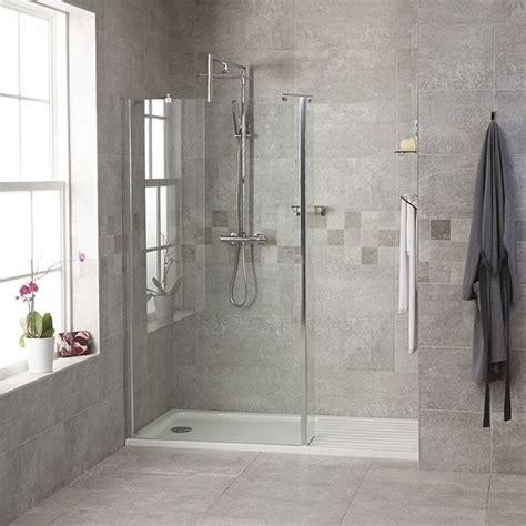 Glass Walk In Shower 1850 X 1200 Walk In Glass Shower Screen