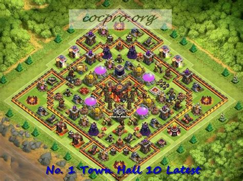 update layout coc latest th10 farming trophy defensing war base layouts