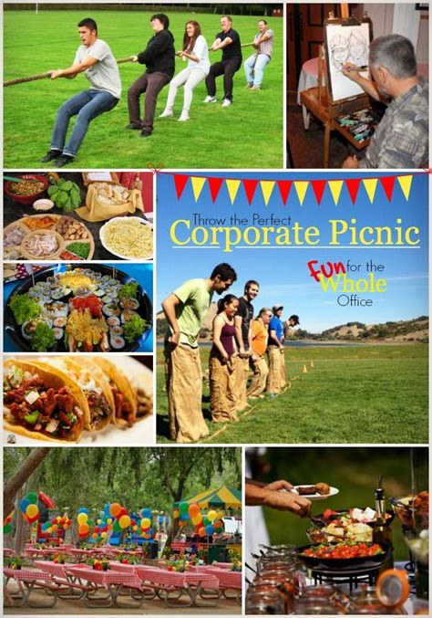 fun themed events for work planning the perfect corporate picnic fun for the whole