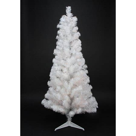 6 12 x 34 tinsel slim christmas tree with 400 clear lights 4 x 24 quot slim white tinsel artificial tree unlit walmart