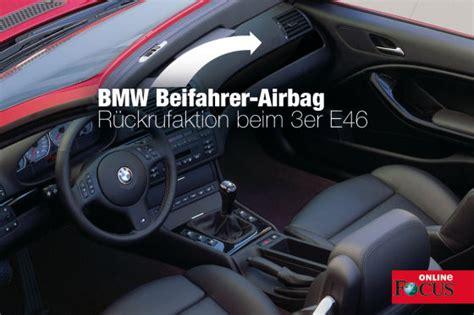 wann wurde bmw gegründet bmw 3er e46 r 252 ckruf wegen defekter airbags bmw news