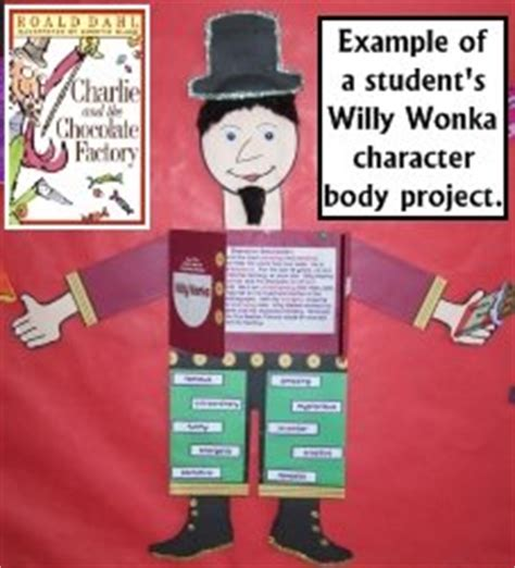 book report on and the chocolate factory and the chocolate factory by roald dahl teaching