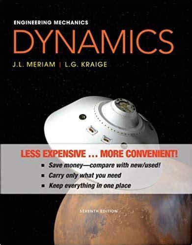 solutions manual  engineering mechanics dynamics meriam kraige