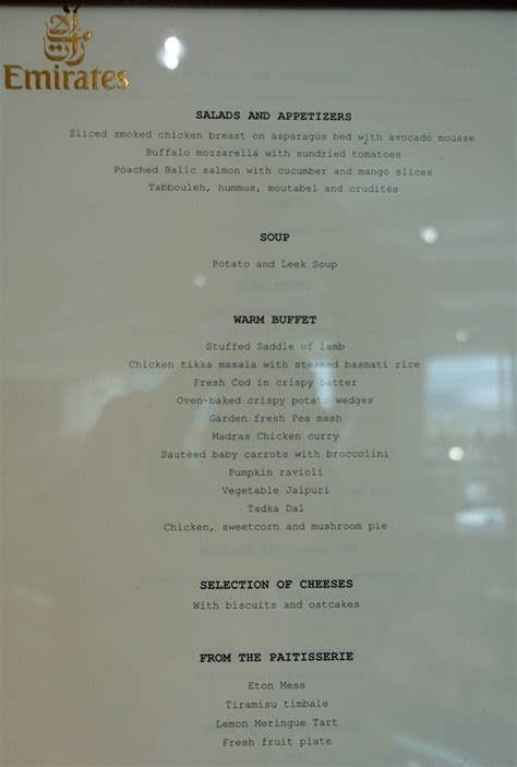 emirates menu review emirates lounge london heathrow terminal 3