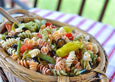 pasta salad recipes potluck food pasta tech