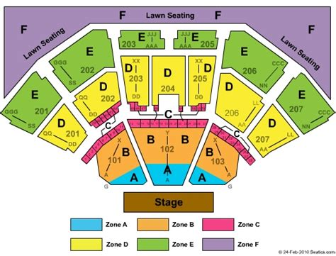 aaron s lakewood hitheatre seating chart aarons hitheatre at lakewood seating chart car