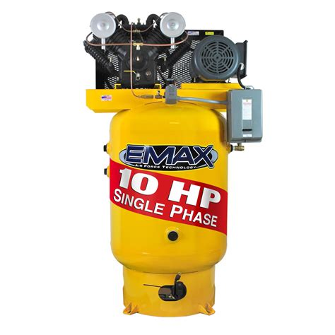 10 Hp Air Compressor Single Phase - 10 hp air compressor single phase 120 gallon vertical