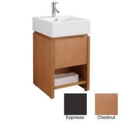 20 Inch Bathroom Vanities Buy Metro Shop Virtu 20 Inch Curtice Single Sink Bathroom Vanity 20 Inch Curtice In Chestnut In