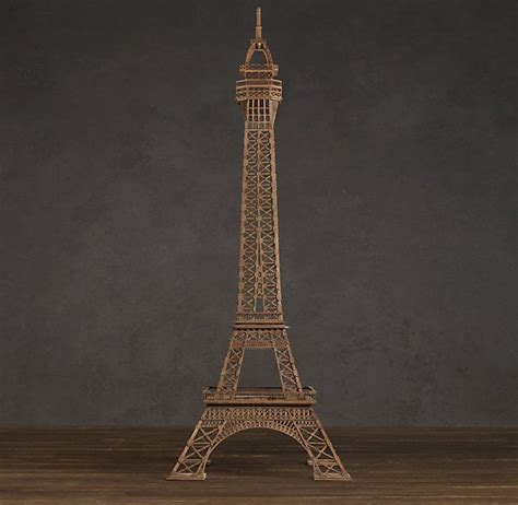 eiffel tower architectural study model home decor