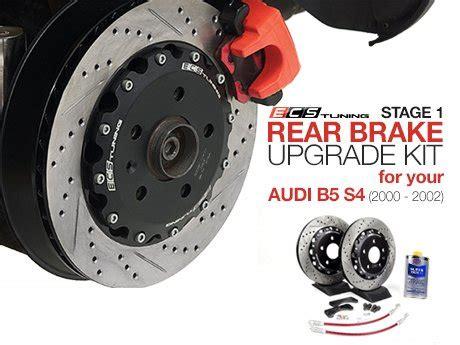 Audi S4 B5 Brake Upgrade by Ecs News Audi B5 S4 Stage 1 Rear Brake Upgrade Kit