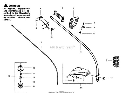 drive shaft parts diagram poulan wildthing gas trimmer parts diagram for drive shaft
