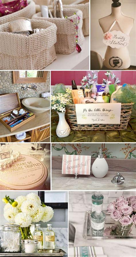 bathroom baskets for weddings wedding bathroom must haves comfort baskets more