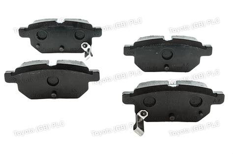 toyota brakes genuine toyota auris corolla car replacement rear brake