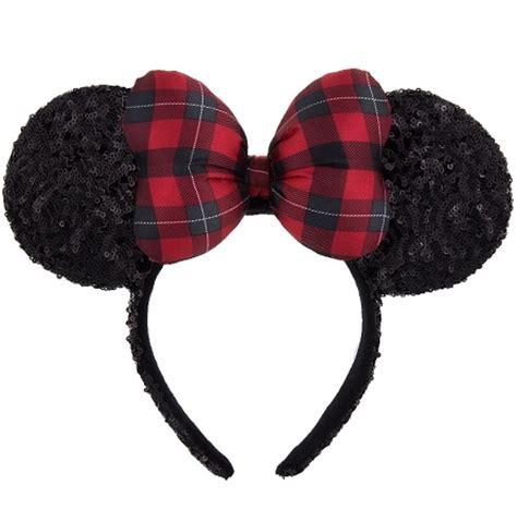 Disney Minnie Ears Headband disney headband ears hat minnie mouse ear with bow plaid
