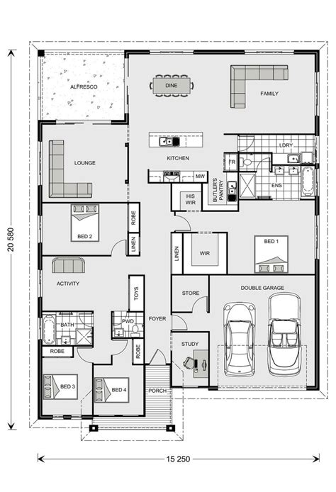 gj gardner floor plans casuarina 295 our designs new south wales builder gj