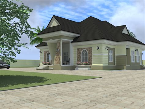 4 bedroom homes residential homes and public designs 4 bedroom bungalow