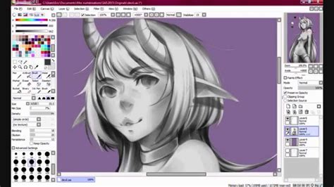 paint tool sai grayscale tutorial grayscale painting