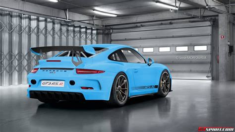 Porsche 991 Gt3 Rs by Porsche 991 Gt3 Rs R Project By Steve Morfouasse Is