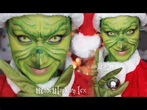 zombie grinch tutorial the grinch makeup you mugeek vidalondon