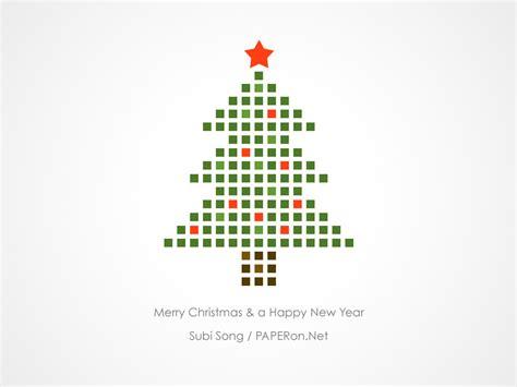 christmas card  paperonnet