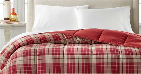 home design down alternative color full queen comforter macy s down alternative comforters just 18 99 regularly