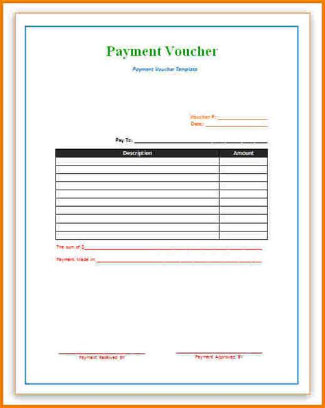 authorization letter to use voucher payment voucher template authorization letter pdf