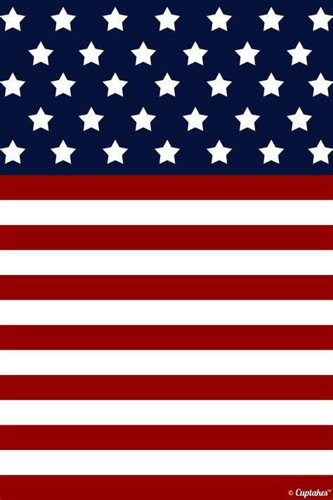 Binder Bendera Vintage american flag background 4th of july